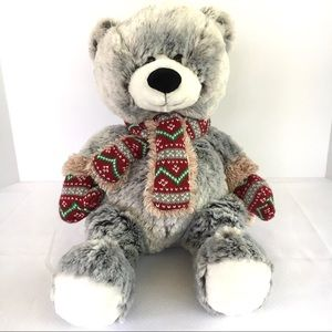 "Hugfun International Gray Teddy Bear 19"" Plush Toy"